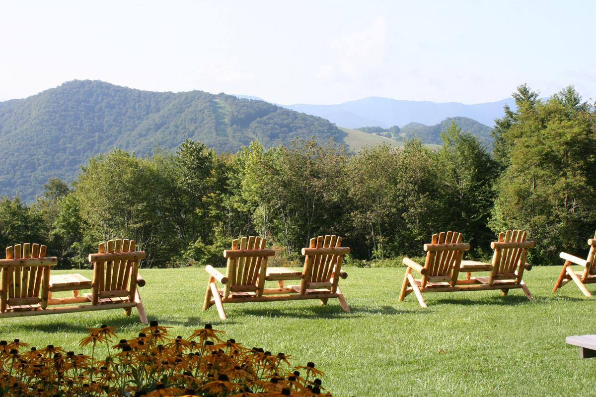 With an elevation of 5,000 feet, The Swag has dramatic and spectacular see-to-forever views at every turn, especially from Gooseberry Knob, a popular spot for picnicking or simply relaxing.