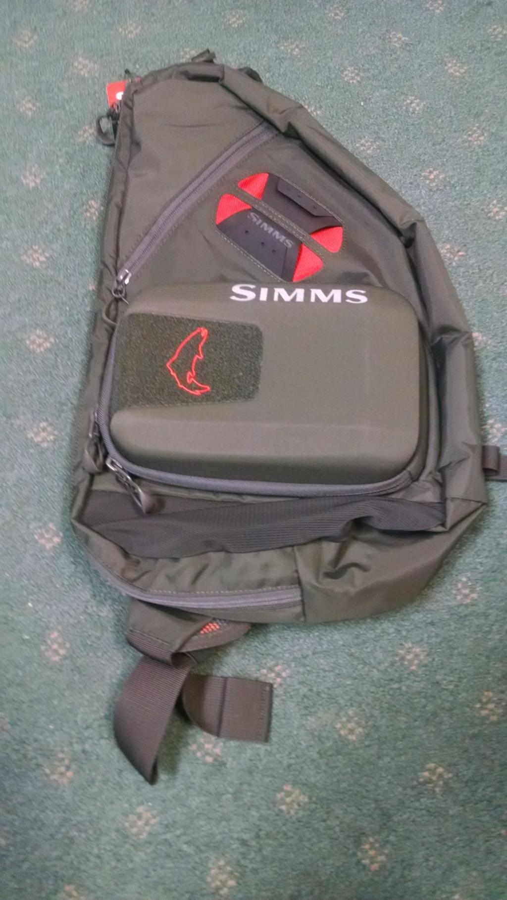 Simms Headwaters Sling Pack A Cinch To Use Sports Rapidcityjournal Com