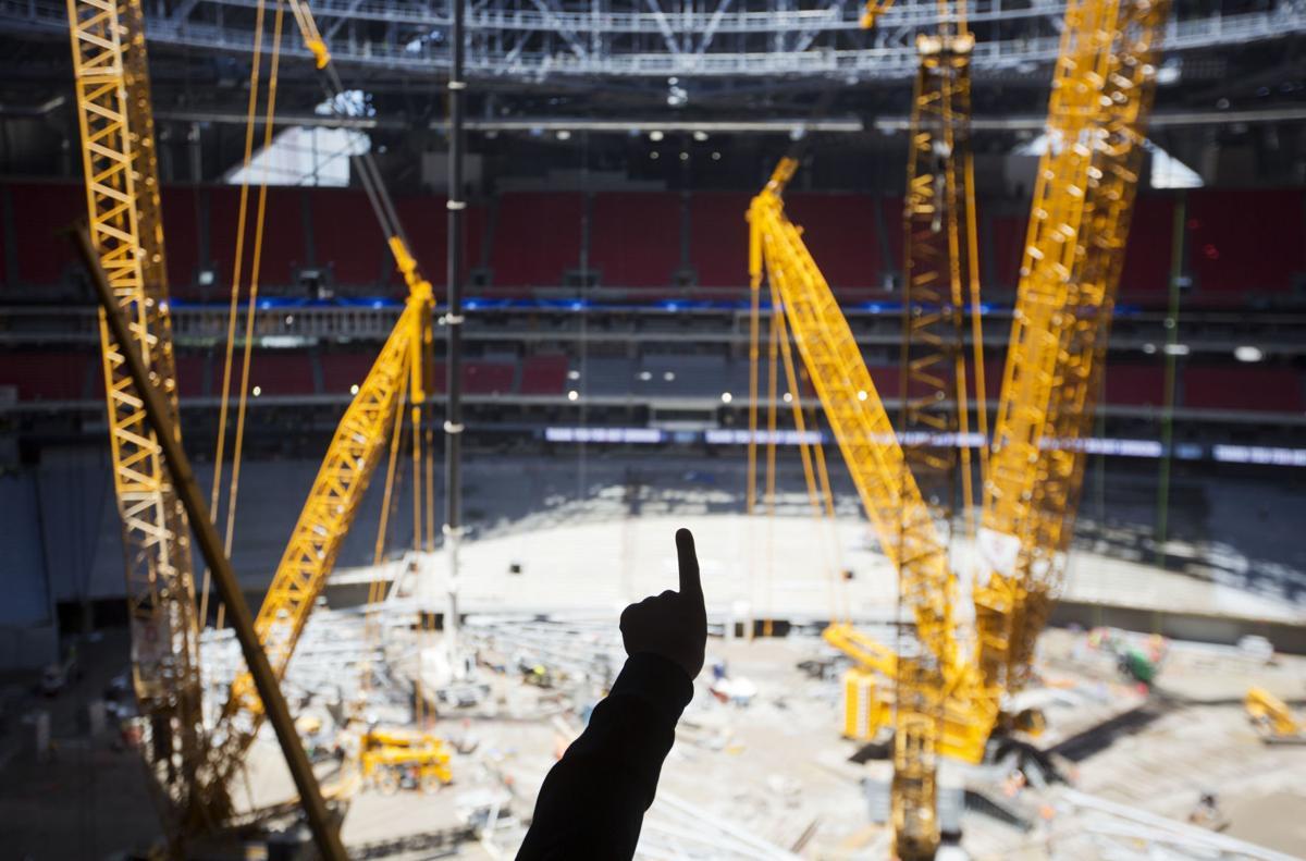 Photos First Look Inside Atlanta S 1 5 Billion Stadium