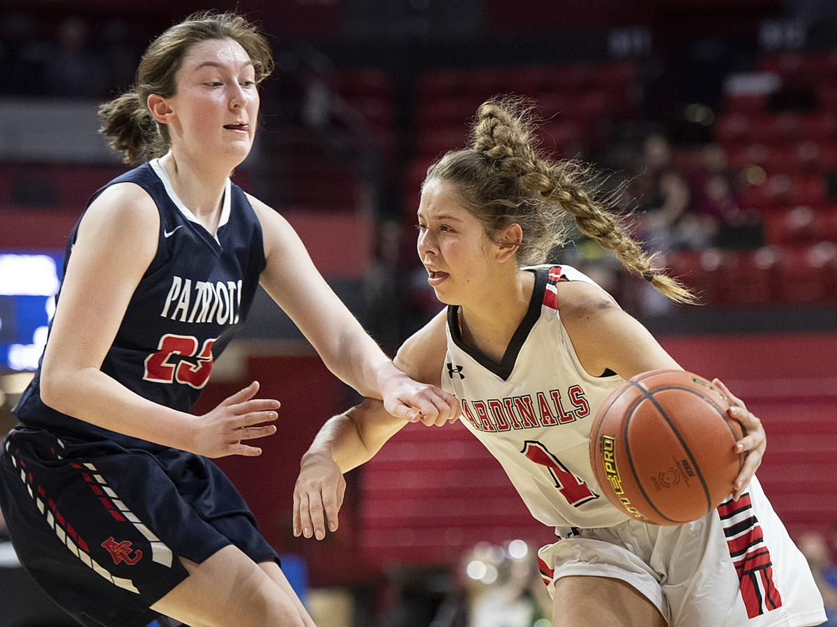 Girls State Basketball, Class C1 quarterfinal - Chadron vs. Adams Central, 3.5.2020