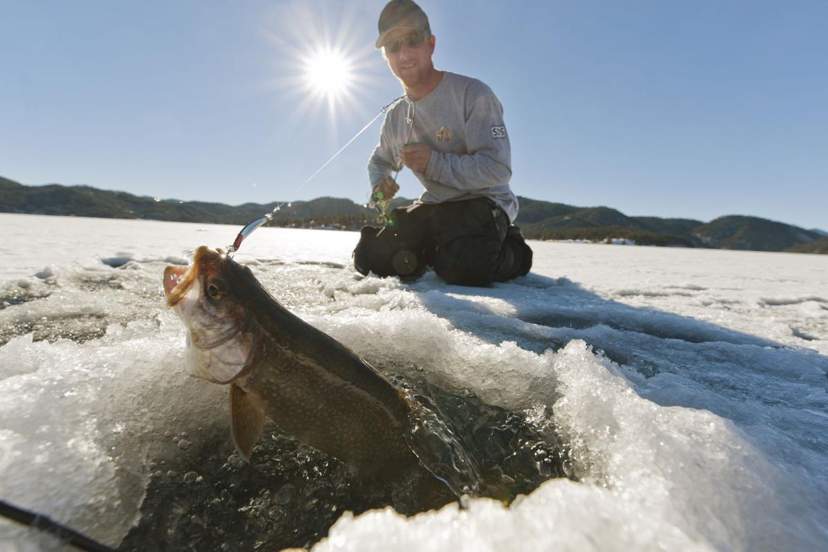 Numerous ways to catch lake trout while ice fishing for Lake trout ice fishing