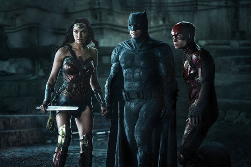 Review: Not even Wonder Woman can save 'Justice League'