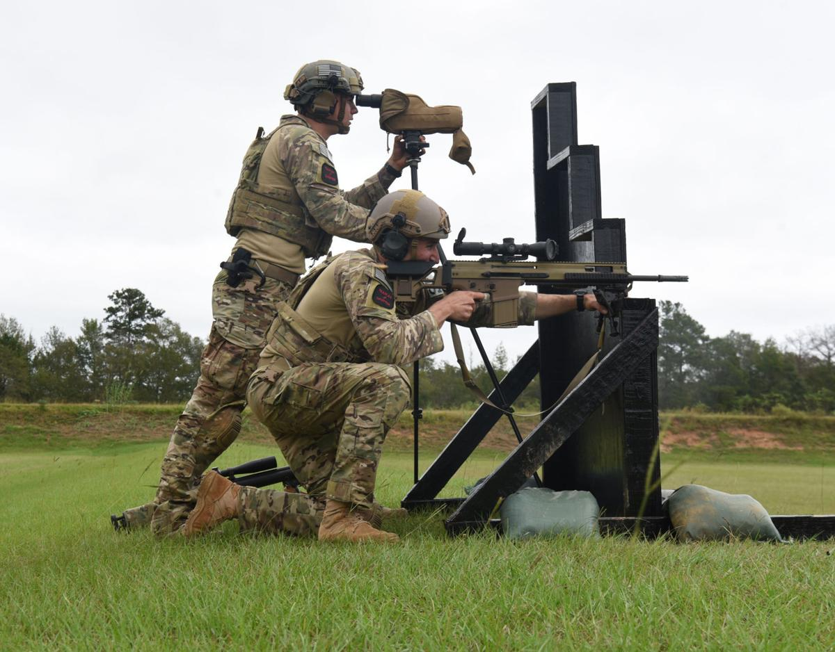 Security Forces Airmen compete in International Sniper Competition