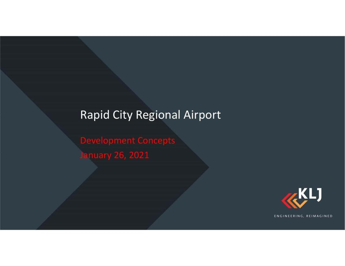 Rapid City Regional Airport's draft master plan