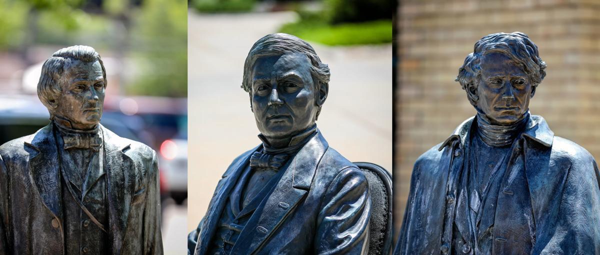 James Van Nuys' President Statues