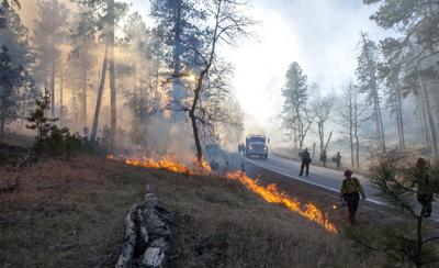Legion Lake Fire, day two