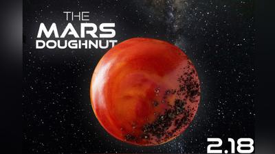 Krispy Kreme is offering a limited-edition Mars doughnut to celebrate NASA's rover landing