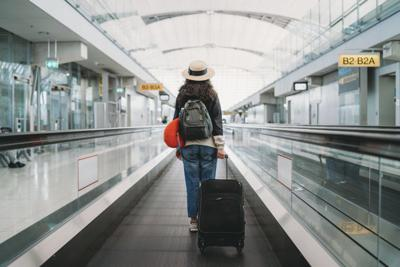 As stay-at-home orders begin to lift, cooped-up Americans have started heading to airports again.