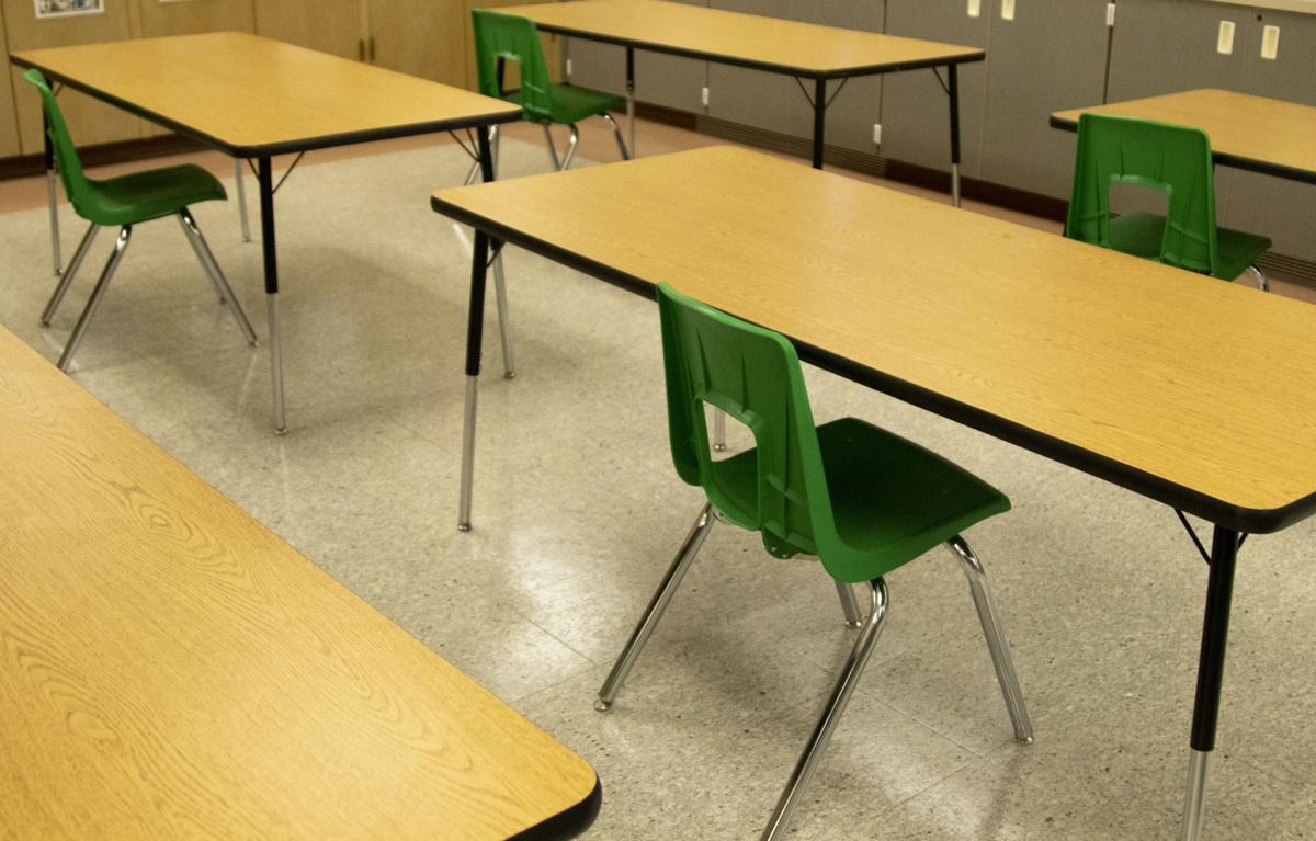 PHOTOS: Rapid City schools prepare for socially distant learning and reduced class sizes