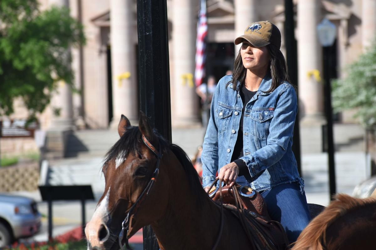 Noem on ride to honor Native women and children