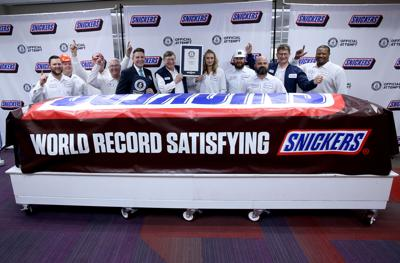 World record Snickers