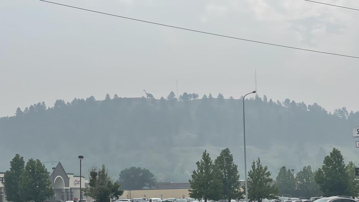 Smoke Dinosaur Hill