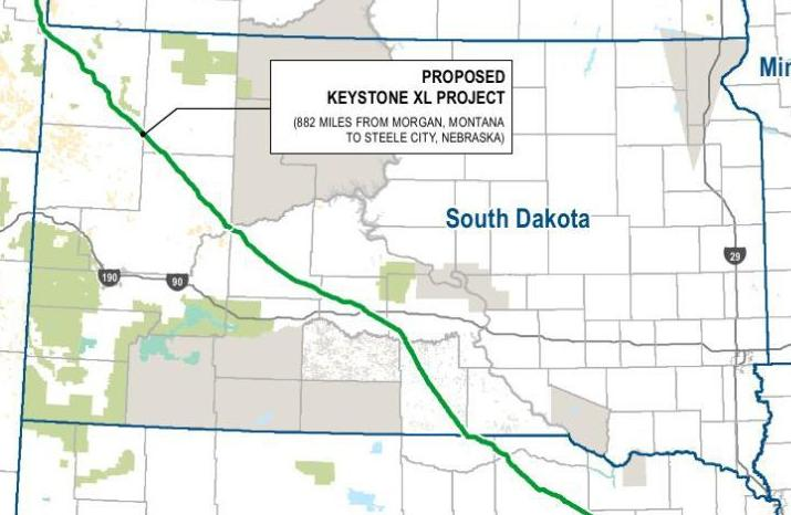 Keystone XL route | | rapidcityjournal.com