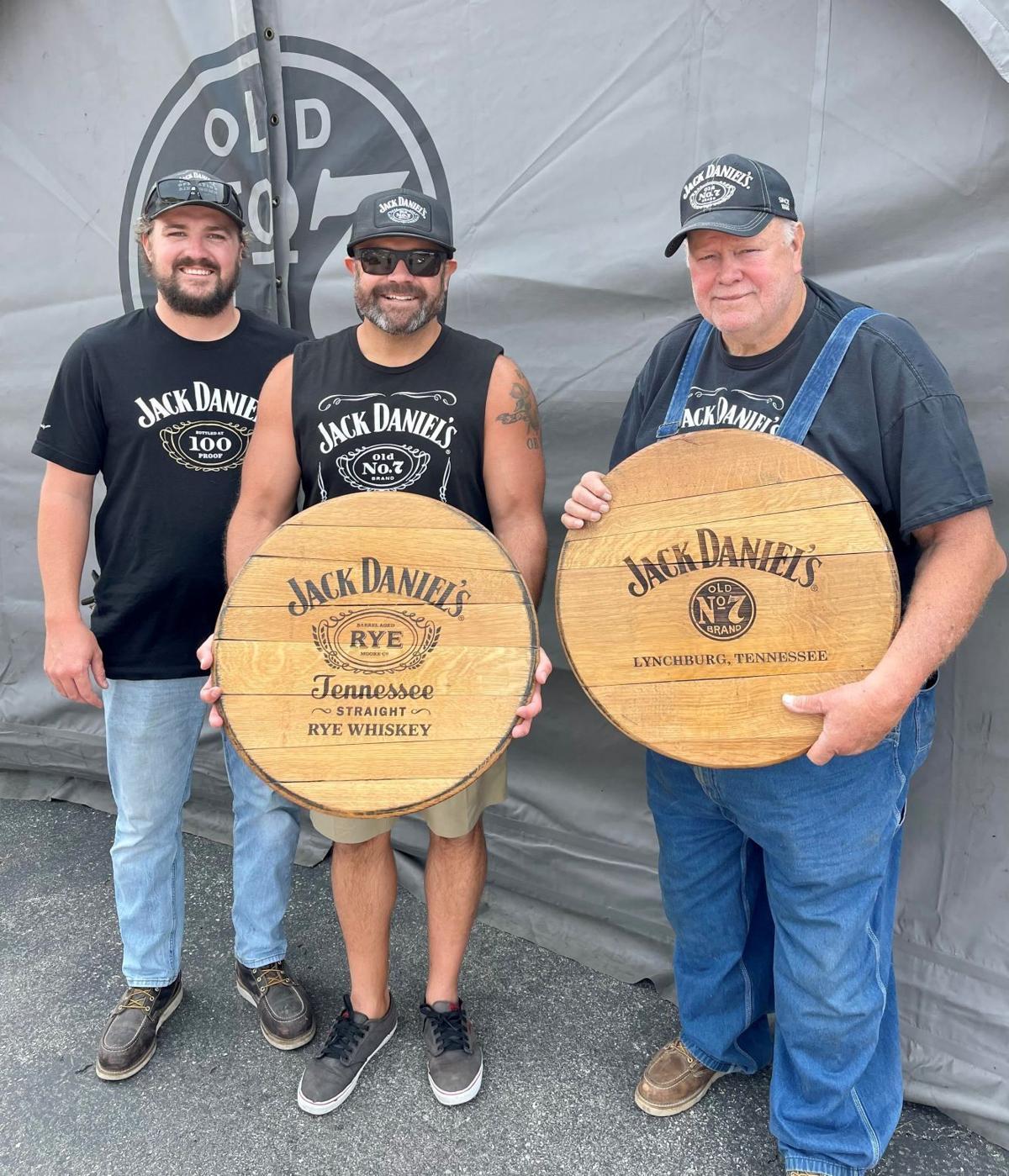 Jack Daniel's tent team