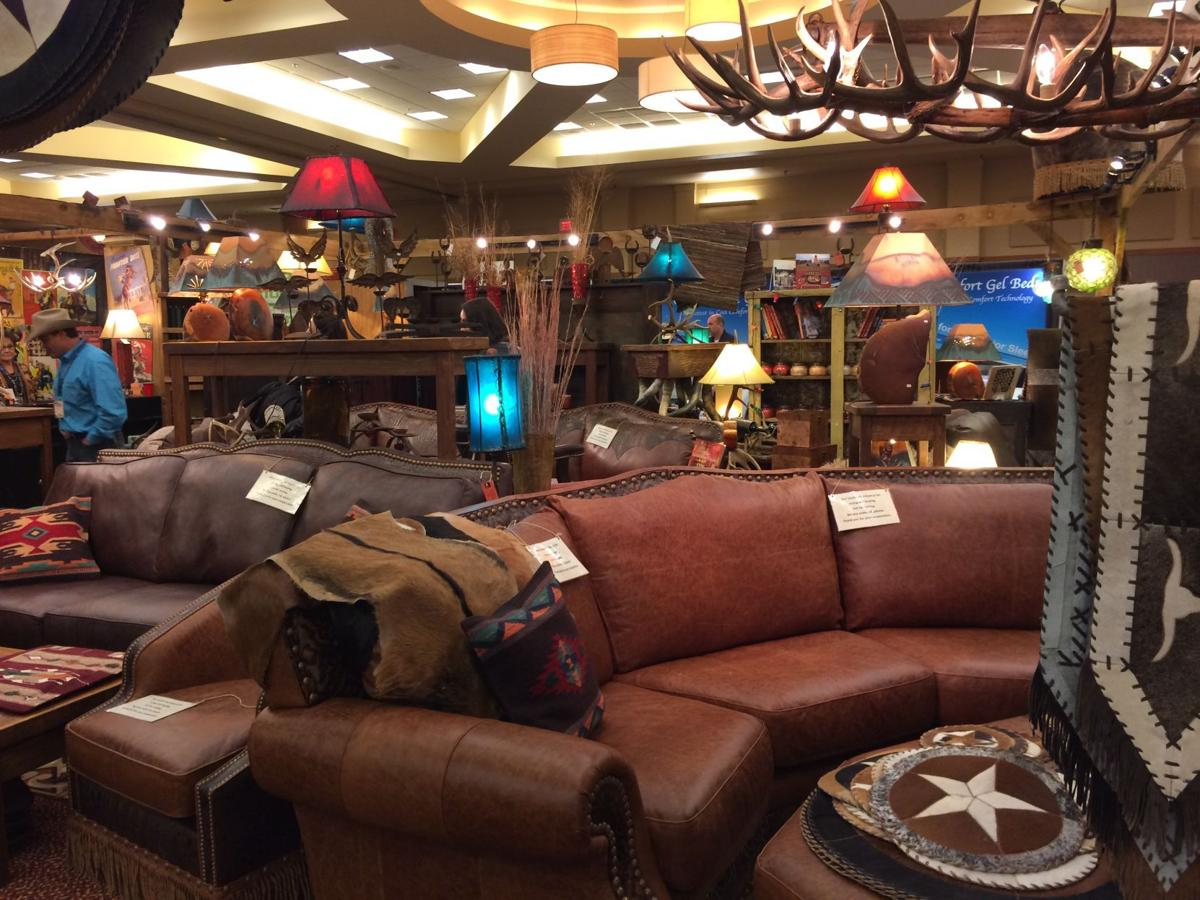 Texas Couple Brings Furniture Showroom To Stock Show