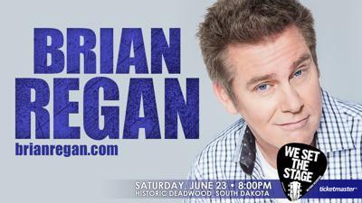 Comedian Brian Regan to perform in Deadwood | Compass