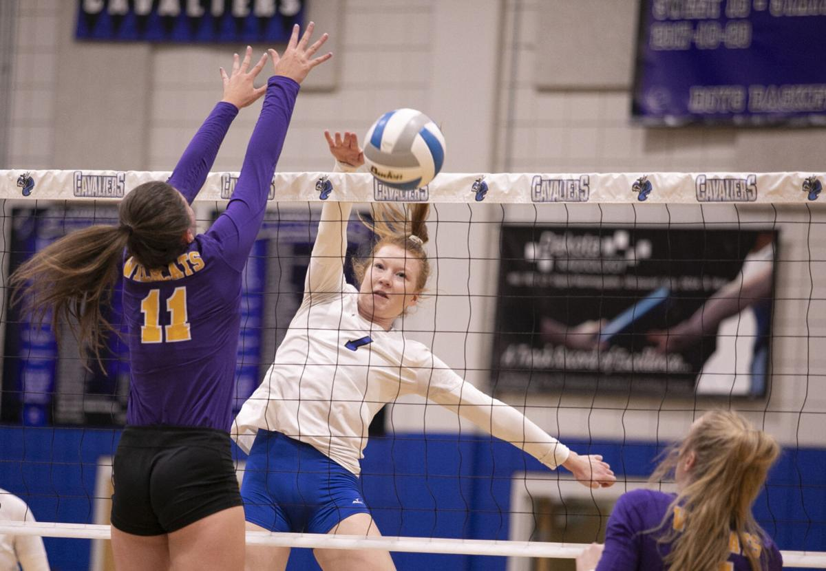 PHOTOS: Custer volleyball at St. Thomas More