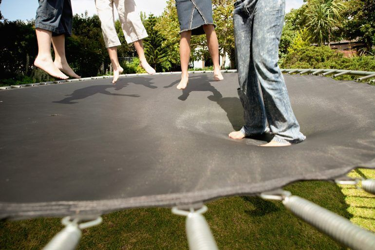 Trampolines, swimming pools and playground equipment are all considered attractive nuisances that could entice kids onto your property.