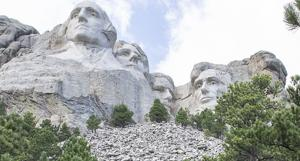 Woman arrested, fined after climbing almost to the top of Mount Rushmore