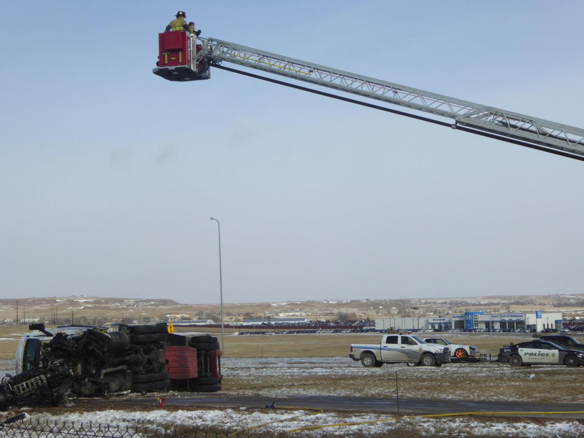 Semi driver in fatal Rapid City crash charged with vehicular