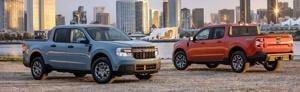 Ford Maverick Compact Pickup Starts Under $20k With Hybrid Powertrain.