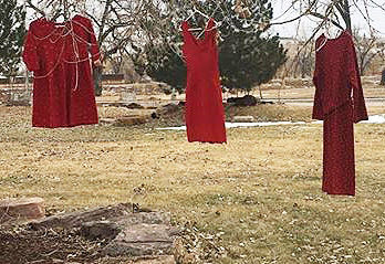 Red Dress Exhibit