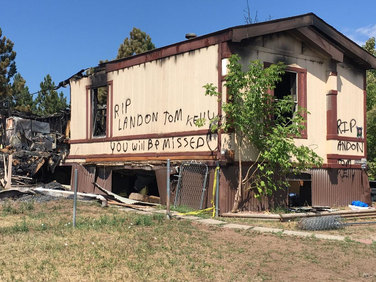 young boy among three victims of friday mobile home fire
