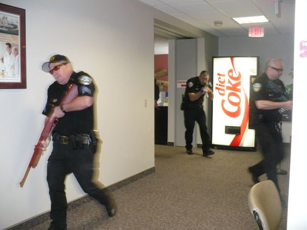 Hospital Stages Active Shooter Training Drill Community