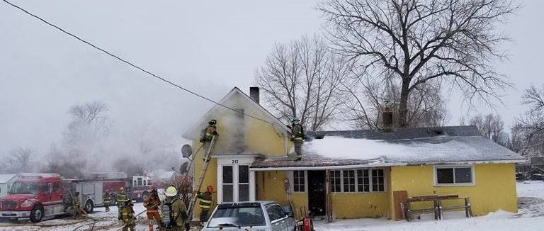 Hermosa house fire