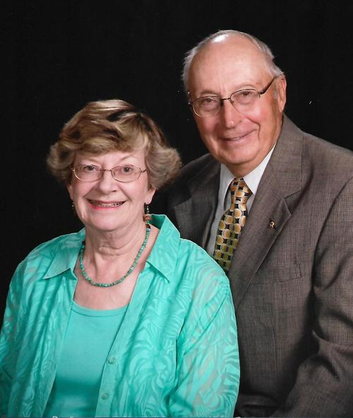 Jeannette and Ron Hill