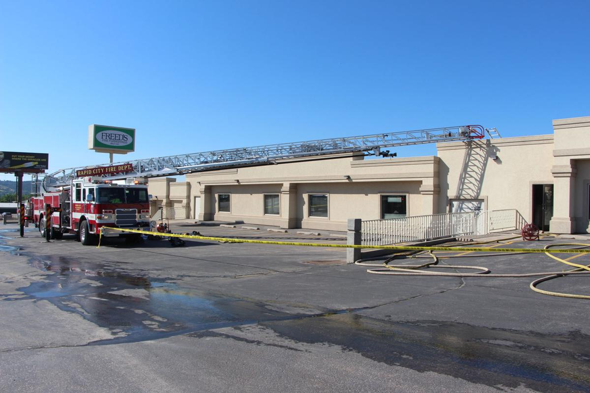 Structure Fire Damages Business On Sturgis Road Local