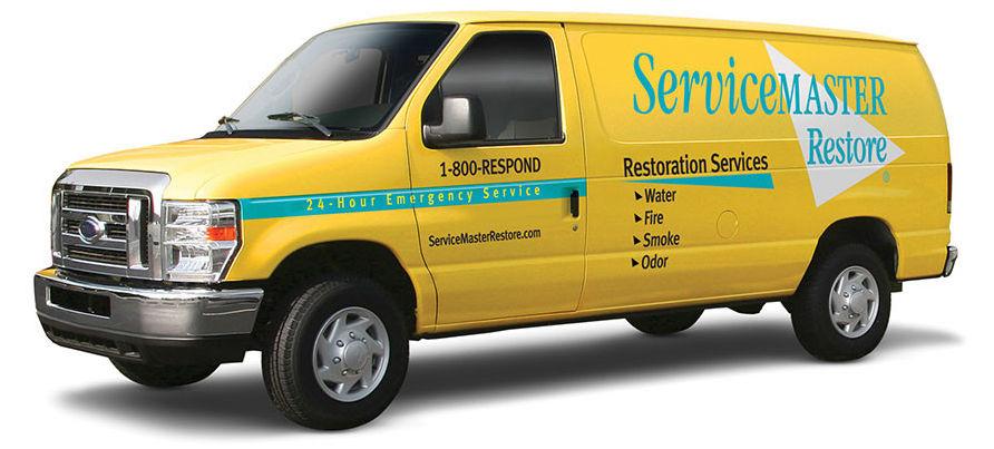 ServiceMaster Van