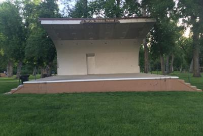 Spearfish City Park Band shell