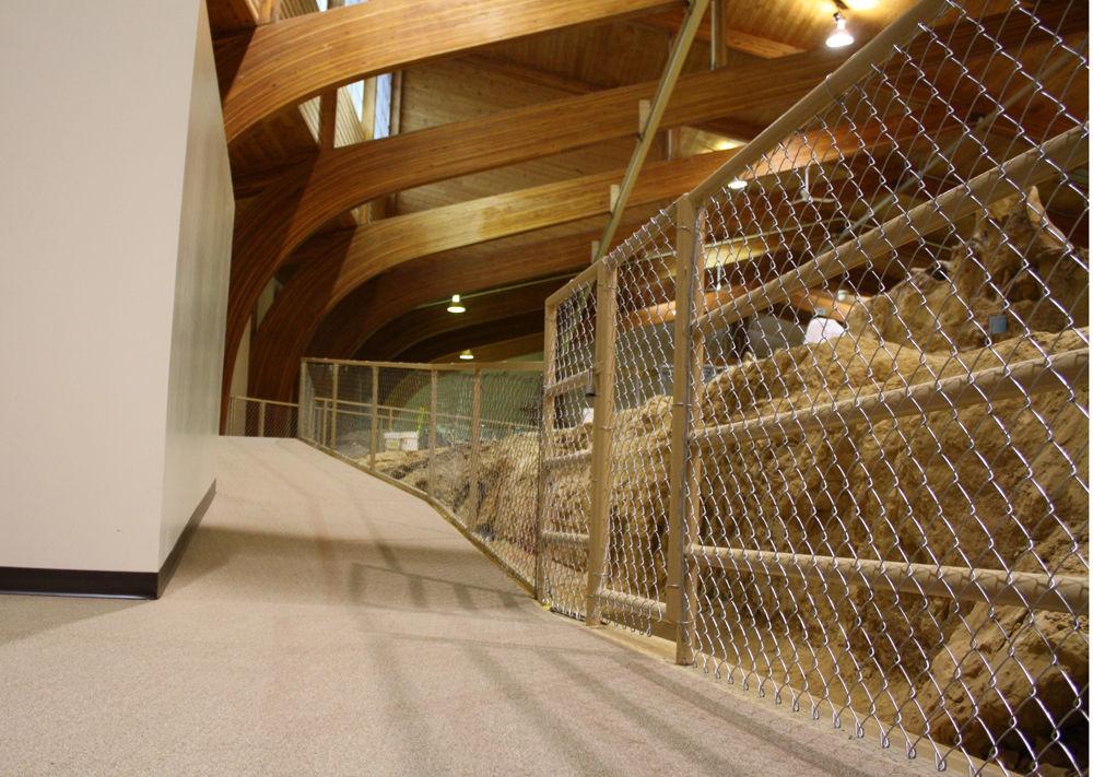 Mammoth site new walkway