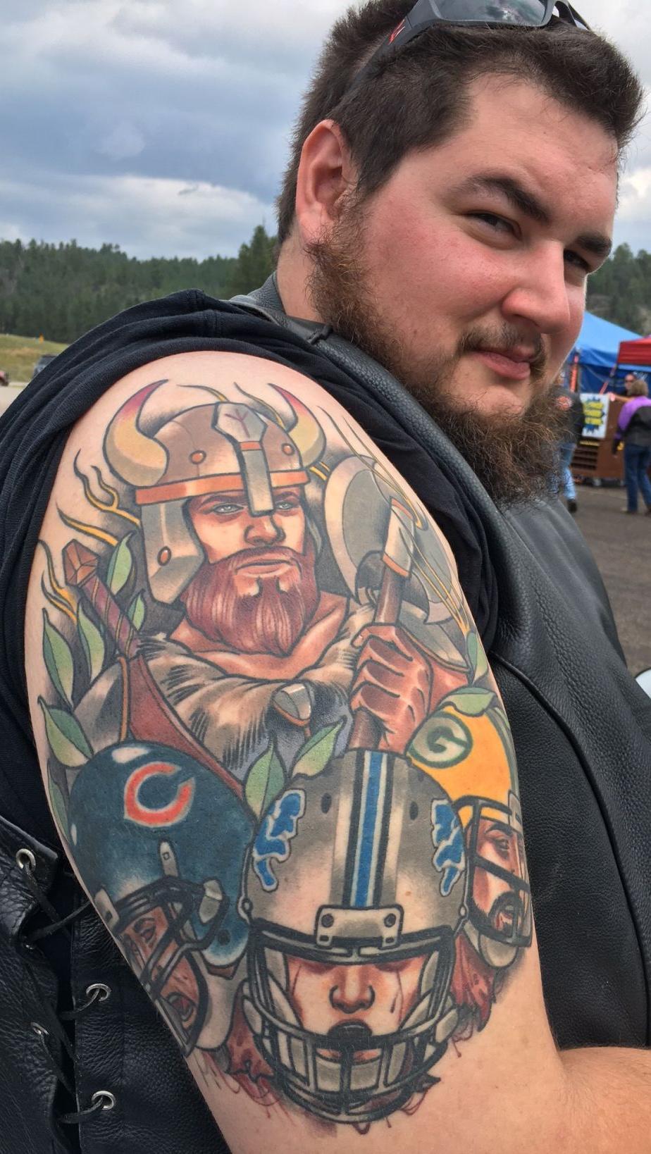 Sturgis tattoo -- TJ Mittleider