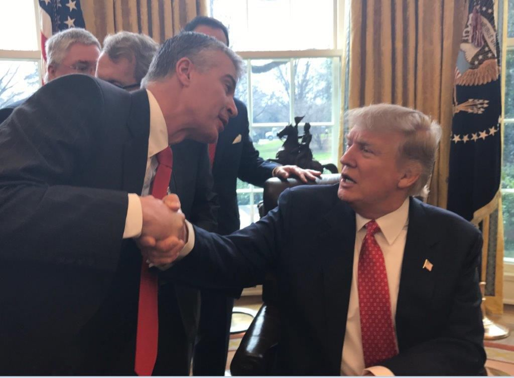 Jackley and Trump