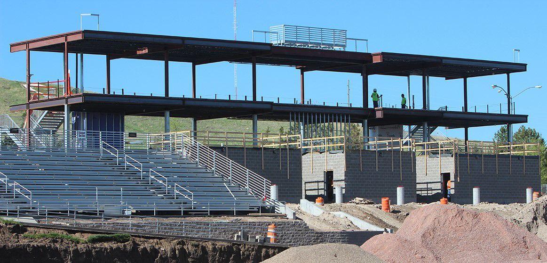 Don Beebe Stadium Construction