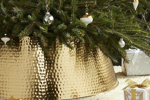 You'll Want To Replace Your Christmas Tree Skirt With This Chic Alternative