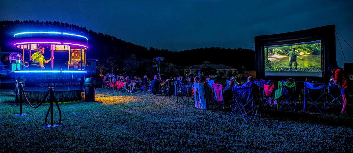 Outdoor event theater