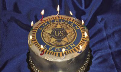 American Legion Birthday Cake