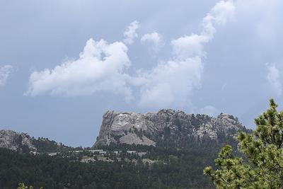Mount Rushmore prepares for fireworks