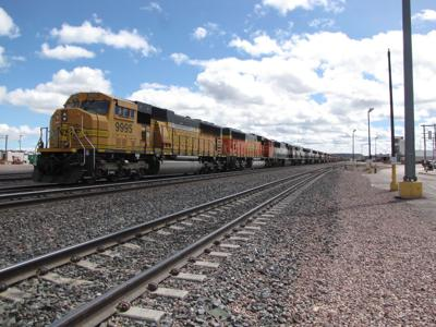 Edgemont locomotives are being stored | Hot Springs