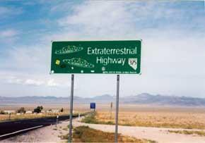 'Extraterrestrial Highway' a curiosity magnet