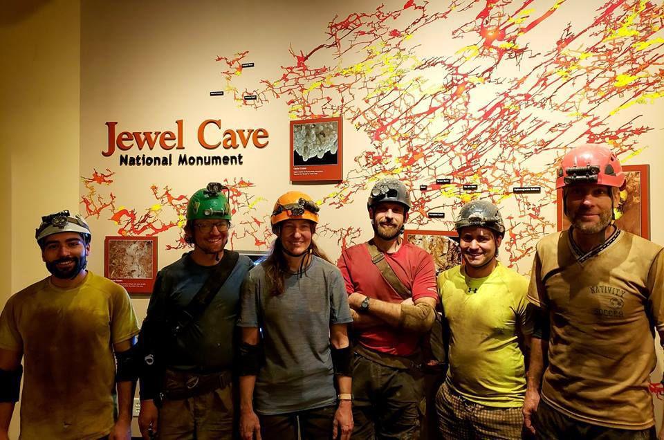 Jewel Cave's 200th mile