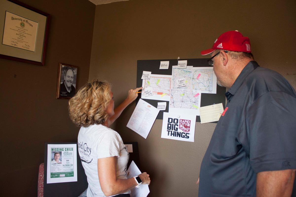 Team Visit Rapid City Map out Fireball Run Strategy