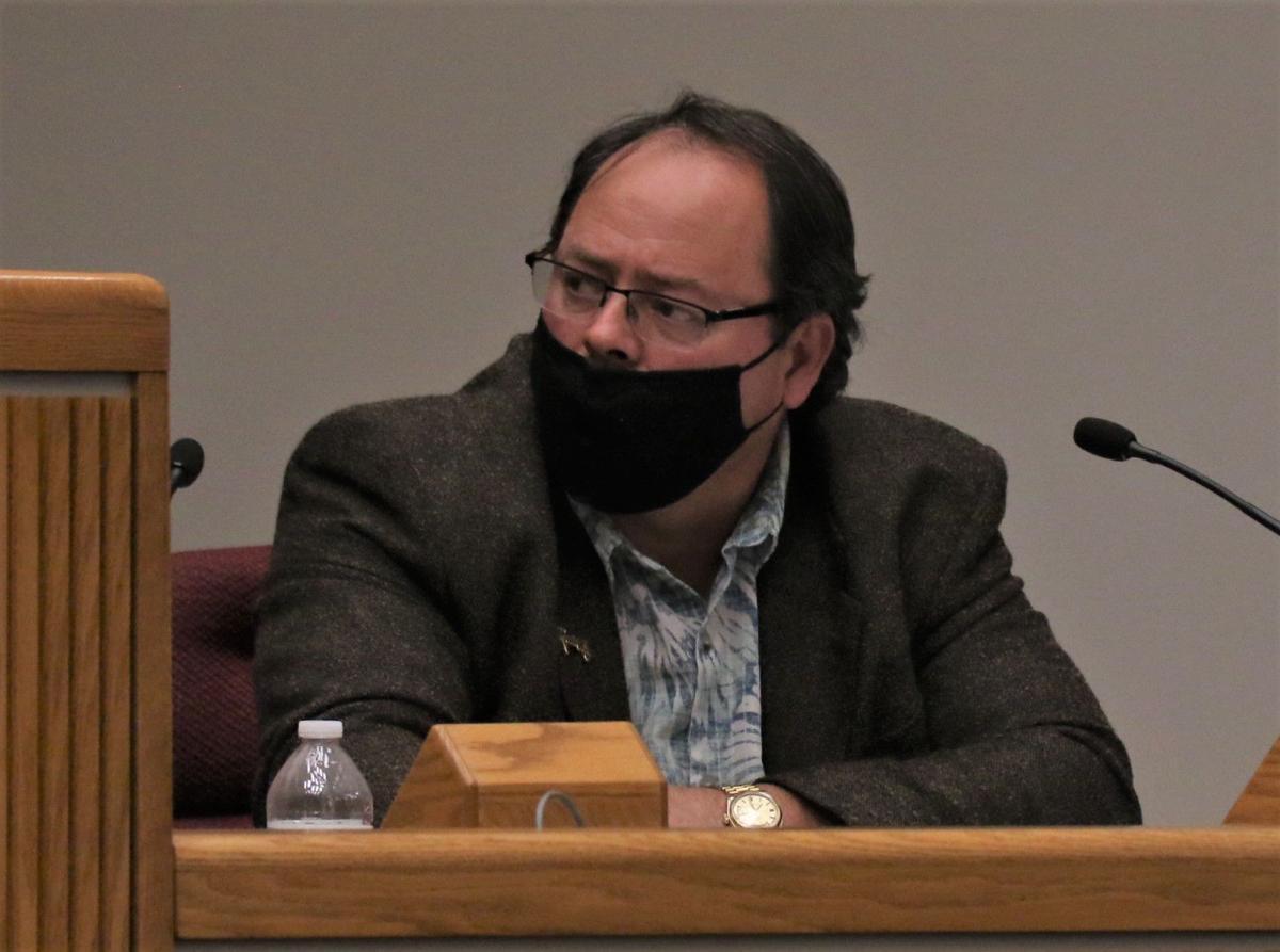 Council member John Roberts