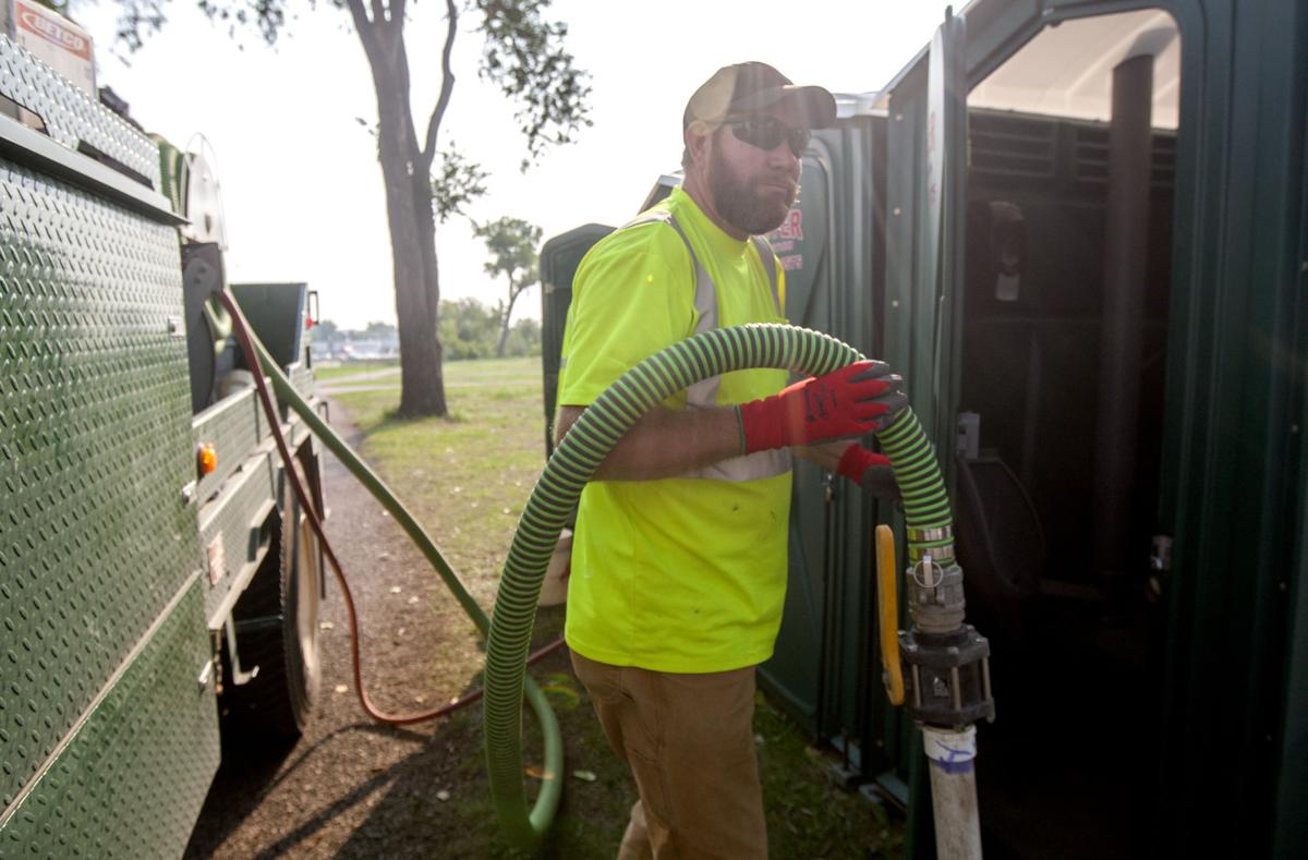 Once you get past smell, port-a-potty pumpers say job not so