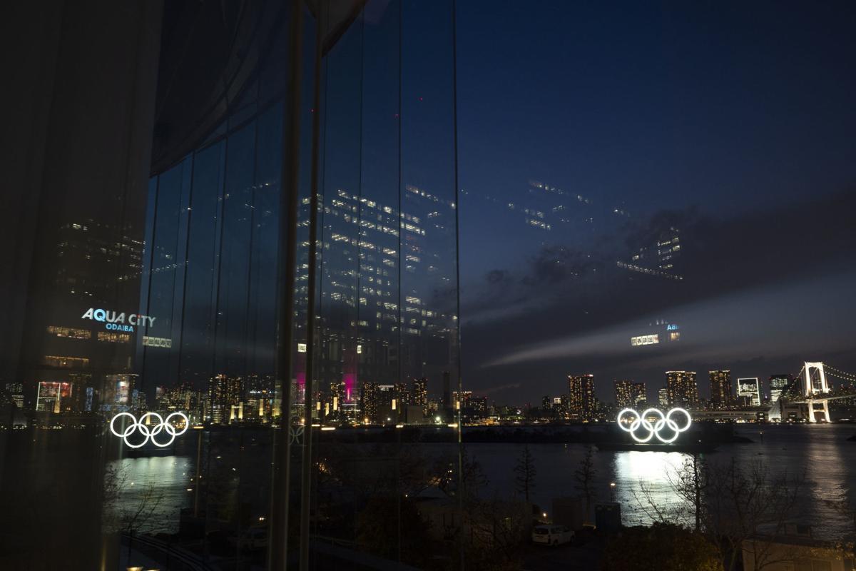 APTOPIX Virus Outbreak Olympics Tokyo 2020