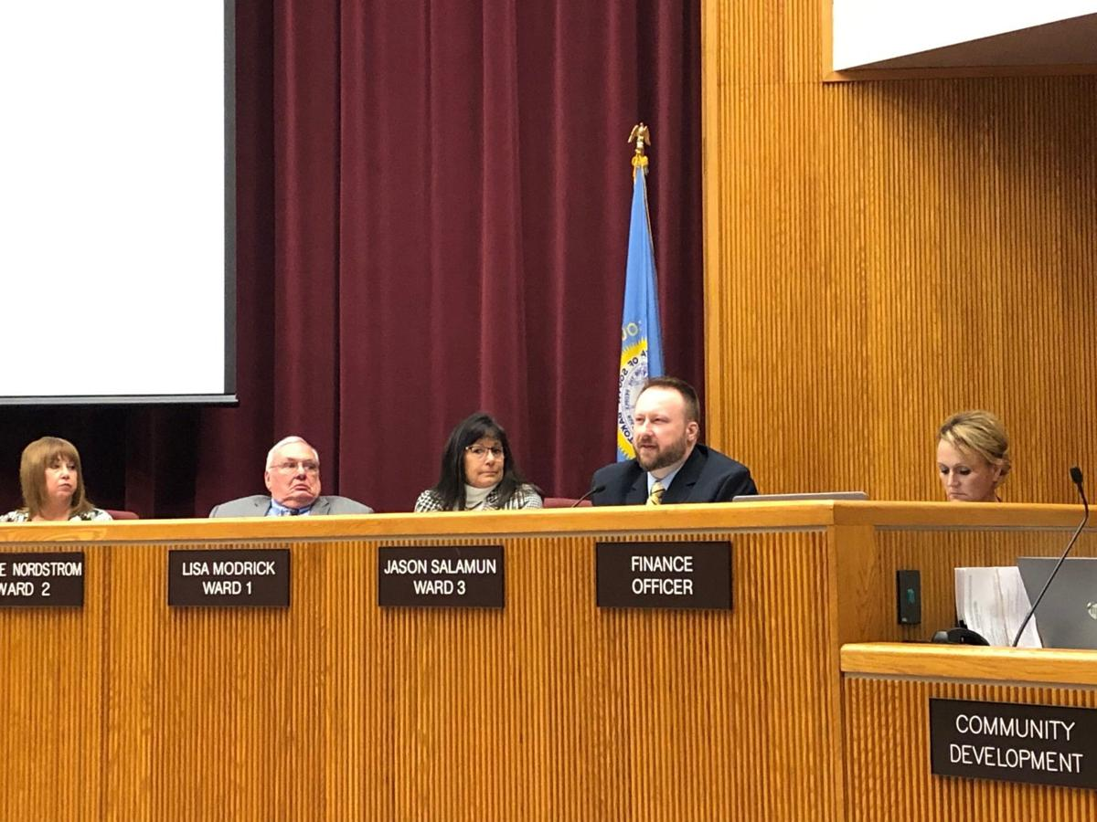 City council approves first reading of new parking ordinances