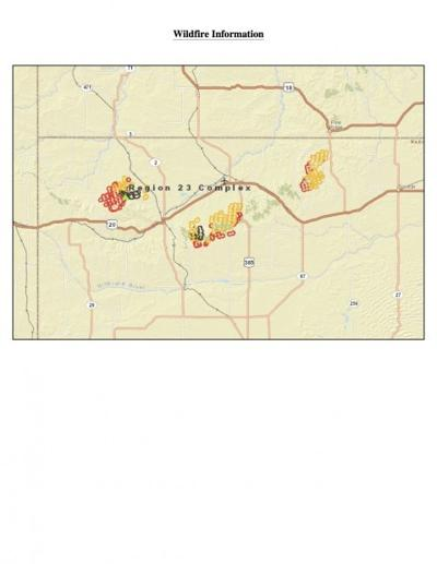 Region 23 fire map